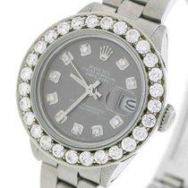 Rolex Lady-Datejust Steel 26mm Grey United States of America, New York, New York