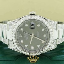 Rolex Datejust II Steel 41mm Grey United States of America, New York, New York