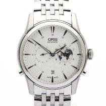 Oris Steel 42mm Automatic 01 690 7690 4081-Set MB new