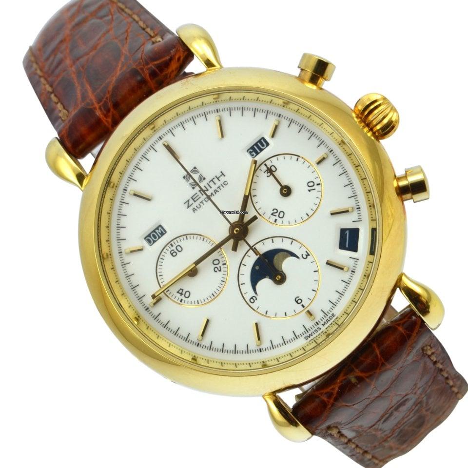 Zenith El Primero Chronograph 06.0173.410 - 3060173410 1989 pre-owned