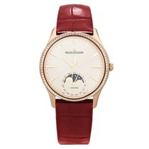 Jaeger-LeCoultre Master Ultra Thin Moon Rose gold 34mm Champagne