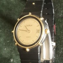 L.Leroy new Quartz 22mm Gold/Steel