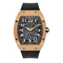 Richard Mille RM 67 Rose gold 38.7mm Transparent Arabic numerals