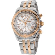 Breitling Chronomat Evolution Gold/Steel 44mm Silver Roman numerals United States of America, New York, Greenvale