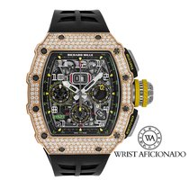 Richard Mille RM 011 new Automatic Watch with original box and original papers RM11-03