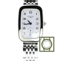 Longines Equestrian Steel 24.7mm White Arabic numerals