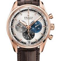 Zenith El Primero Chronomaster nowość 2021 Automatyczny Chronograf Zegarek z oryginalnym pudełkiem i oryginalnymi dokumentami 18.2043.400/69.C494