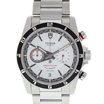 Tudor Grantour Chrono Fly-Back Zeljezo 42mm Bjel