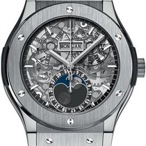 Hublot Classic Fusion Aerofusion nowość 2021 Automatyczny Zegarek z oryginalnym pudełkiem i oryginalnymi dokumentami 517.NX.0170.LR