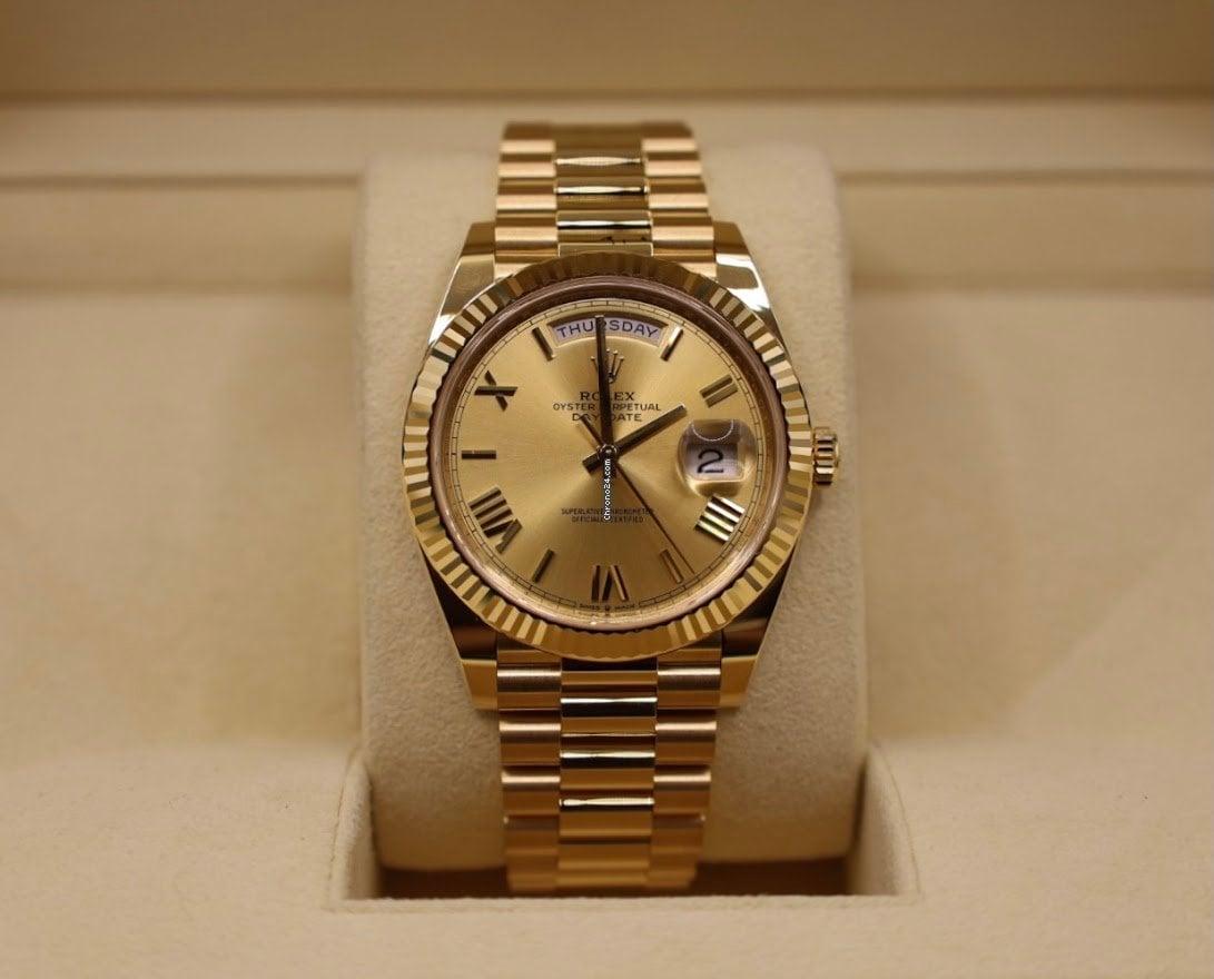 Rolex Day-Date 40 228238 2021 new