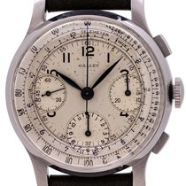 Gallet Steel 36mm Manual winding pre-owned United States of America, California, West Hollywood