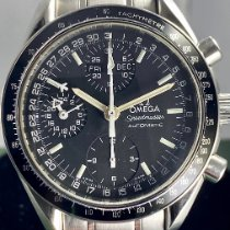 Omega Speedmaster Day Date pre-owned 39mm Black Chronograph Date Weekday Month GMT Tachymeter Steel