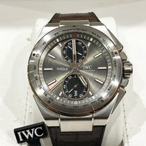 IWC Ingenieur Chronograph Racer Steel 45mm Grey No numerals