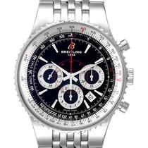 Breitling Montbrillant Steel 47mm Black United States of America, Georgia, Atlanta