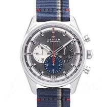 Zenith El Primero 36'000 VpH Steel 42mm Black United States of America, Florida, North Miami Beach