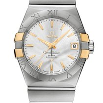 Omega Constellation Men new Automatic Watch with original box and original papers 123.20.38.21.02.005