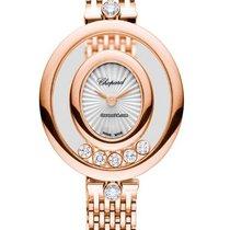Chopard 209421-5001 Růžové zlato Happy Diamonds nové