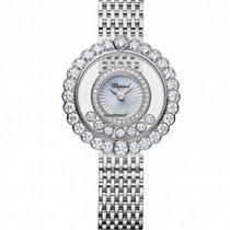 Chopard 204180-1201 Bílé zlato Happy Diamonds nové