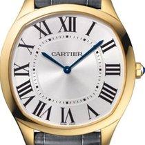 Cartier Желтое золото Механические Cеребро 38mm новые Drive de Cartier