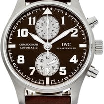 IWC IW387806 Steel Pilot Spitfire Chronograph 43mm pre-owned United States of America, Florida, North Miami Beach