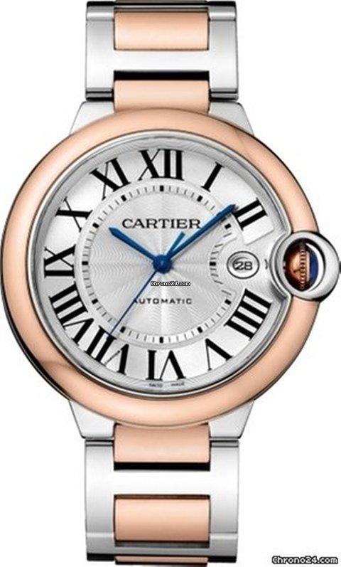 Cartier Ballon Bleu 42mm W2BB0004 new