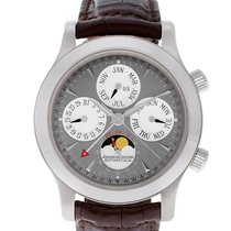 Jaeger-LeCoultre White gold Automatic Grey 42mm pre-owned Master Memovox