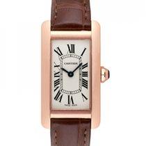 Cartier Tank Américaine new Quartz Watch with original box and original papers W2607456