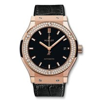 Hublot Automatic Black new Classic Fusion 45, 42, 38, 33 mm