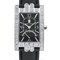 Harry Winston Avenue pre-owned Black Fold clasp