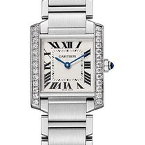 Cartier Tank Française Steel 30.4mm Silver United States of America, Florida, North Miami Beach