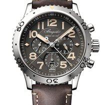 Breguet Type XX - XXI - XXII new Automatic Watch with original box and original papers 3817ST/X2/3ZU