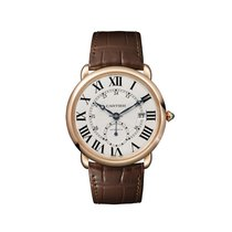 Cartier Ronde Louis Cartier Rose gold 40mm Silver United States of America, Florida, North Miami Beach