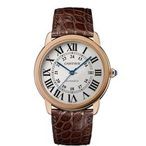 Cartier Ronde Solo de Cartier new Automatic Watch with original box and original papers W6701009