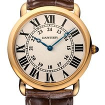Cartier Ronde Louis Cartier Rose gold 36mm Silver United States of America, Florida, North Miami Beach