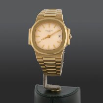 Patek Philippe 3800/001 Yellow gold 1992 Nautilus 37mm pre-owned