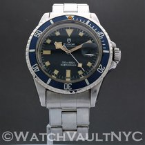 Tudor Submariner Сталь 39mm Синий