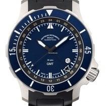 格拉苏蒂 Seebataillon GMT 钛 蓝色
