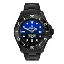 Rolex Sea-Dweller Deepsea Acero 44mm Azul