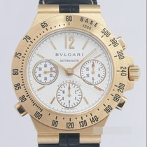 Bulgari Diagono Good Yellow gold 40mm Automatic