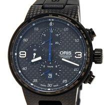Oris Carbon Automatic Black Arabic numerals 44mm new Williams F1