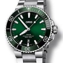 Oris 01 733 7730 4157-07 8 24 05PEB Steel 2020 Aquis Date 43.5mm new
