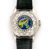 Patek Philippe World Time usados 39.5mm GMT