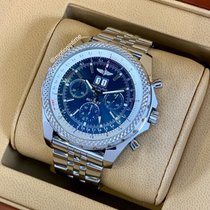 Breitling Bentley 6.75 Acero 48.7mm Azul
