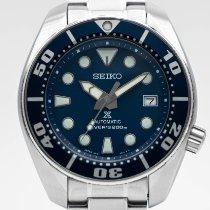 Seiko Prospex Stahl 44mm Blau Keine Ziffern