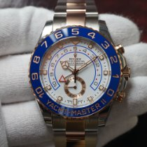 Rolex Yacht-Master II Gold/Steel 44mm White No numerals United States of America, Florida, Orlando