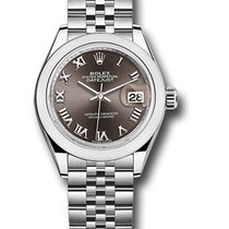 Rolex Lady-Datejust Steel 28mm Grey United States of America, New York, NY
