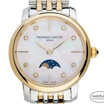 Frederique Constant Slimline Moonphase Steel 30mm