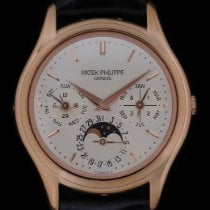 Patek Philippe Perpetual Calendar Rose gold 36mmmm Silver No numerals United States of America, New York, New York