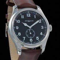 Montblanc 1858 Steel 44mm Black Arabic numerals