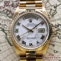 Rolex Day-Date 36 Yellow gold 36mm Roman numerals